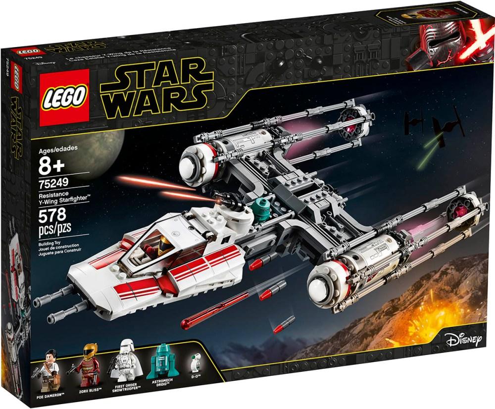 Lego Star Wars Y-Wing Resistenza
