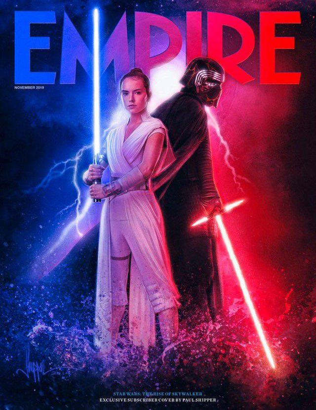 star wars ascesa di skywalker in copertina su Empire