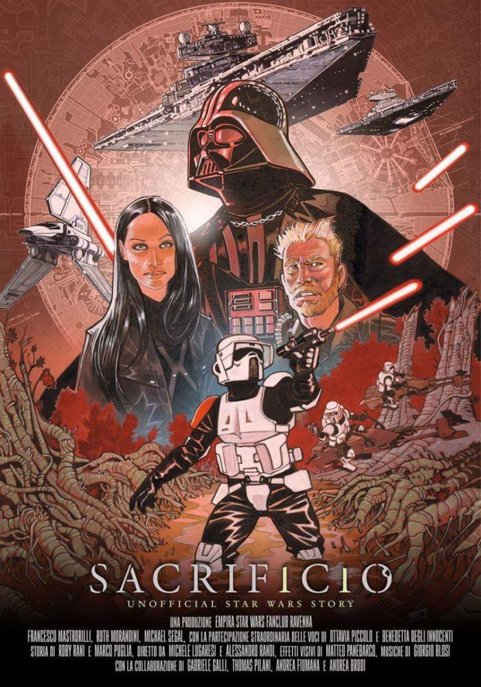 poster di Sacrificio, fan film presentato al Lucca Comics & Games