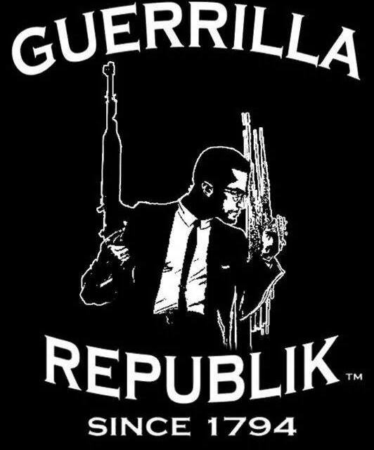 MALCOLM X ~ GUERRILLA REPUBLIK EDITION