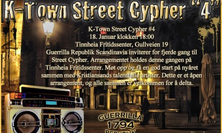 K-Town Street Cypher #4 GUERRILLA REPUBLIK SCANDINAVIA