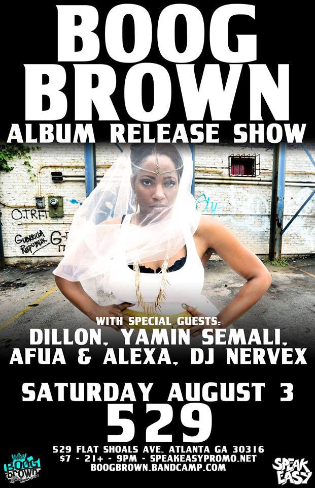 boog brown album release