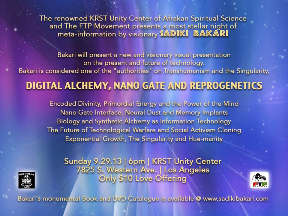 """The KRST Unity Center & the FTP Movement presents """"Digital"""