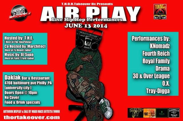 AIRPLAY JUNE
