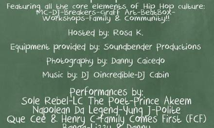 Universal Zulu Nation : Community Day a Hip Hop Cultural Event: Back To School Jam Vol.2