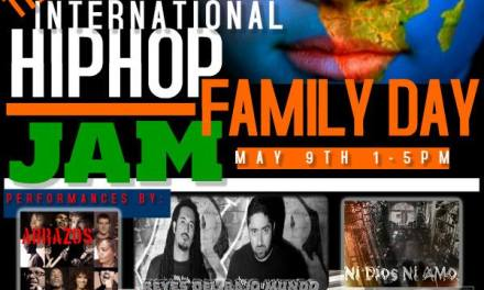 8 Days of Non-Stop Hip Hop- International Family Day Jam: May 9th, 2015