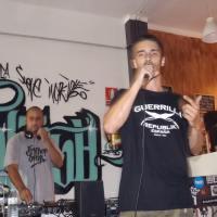 RG – Ronin Gryn (Prod. Wire beats) of Guerrilla Republik Spain