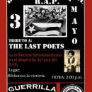 DIA INTERNACIONAL DE LA MUSICA R.A.P 3 DE MAYO : TRIBUTE TO THE LAST POETS IN COLOMBIA