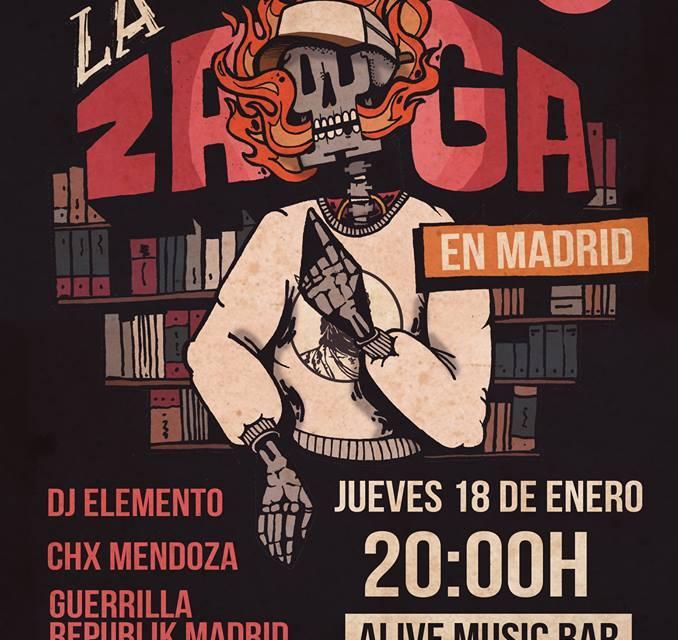 La Zaga : En Madrid Jan 18th
