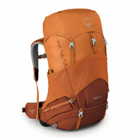 Osprey Ace 38 Kinder Wanderrucksack L 58 cm, orange