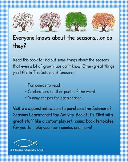 Science of the Seasons back book cover