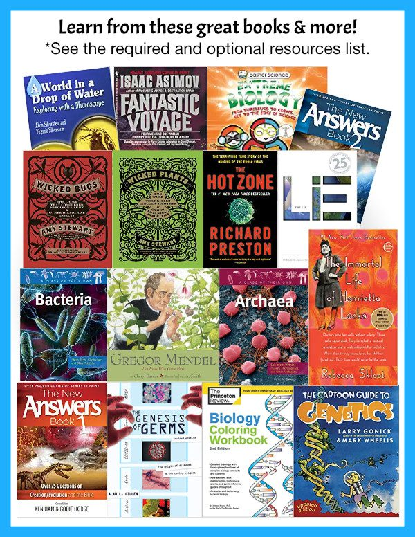 Homeschool biology curriculum books