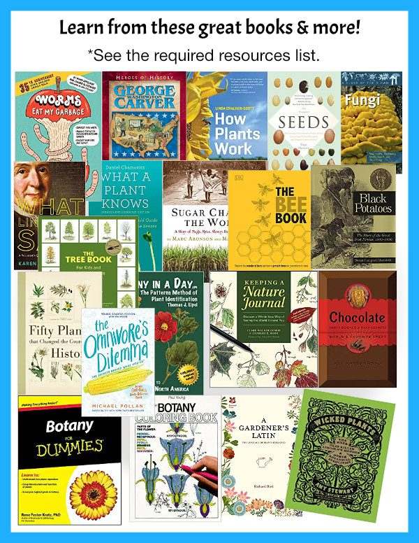 Guest Hollow's Botany Curriculum books