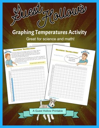 Graphing Temperatures Printable