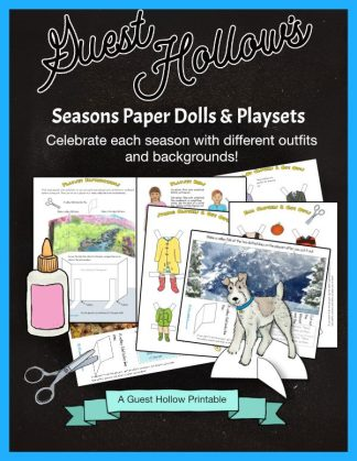Seasons Paper Dolls and Playsets