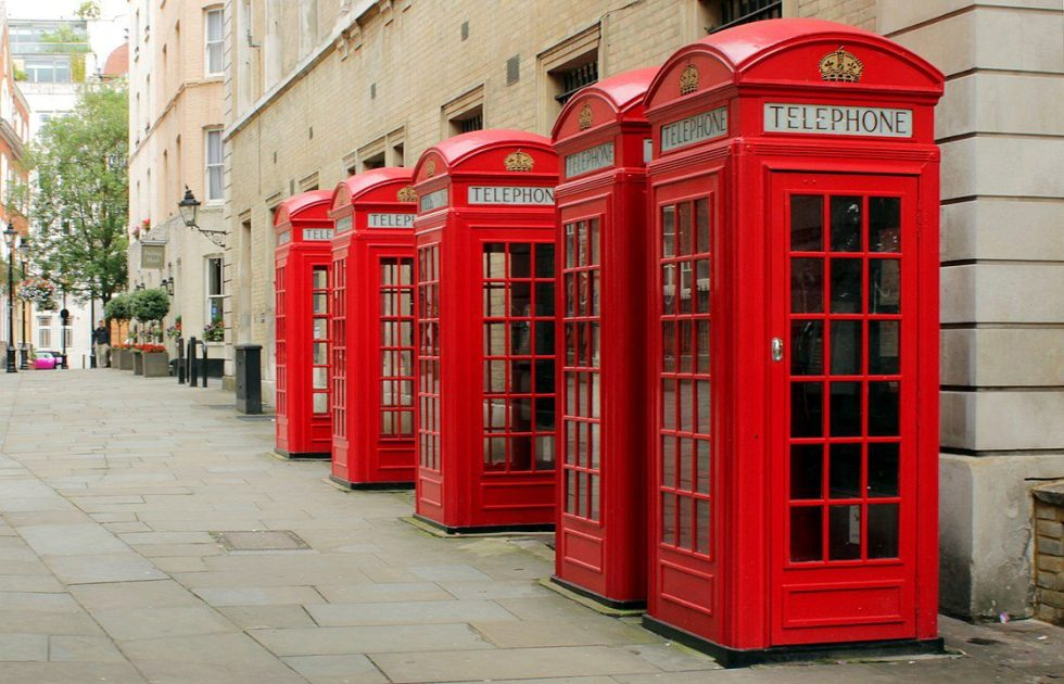 Red telephone boxes are being replaced with LinkUK kiosks that feature free ultra-fast Wi-Fi.