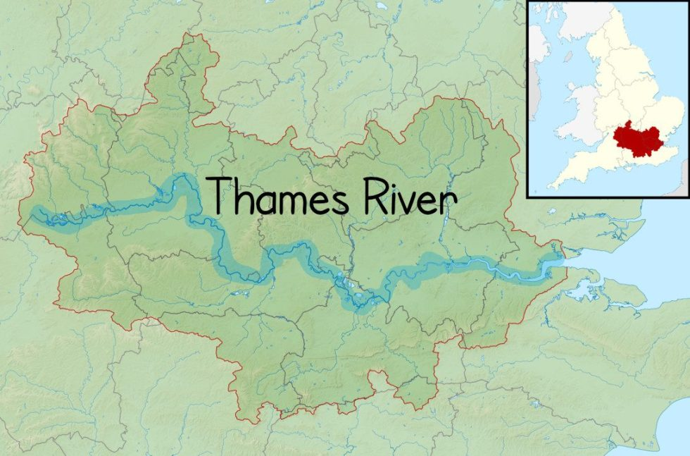 "Thames River (pronounced ""Tems"" River)"