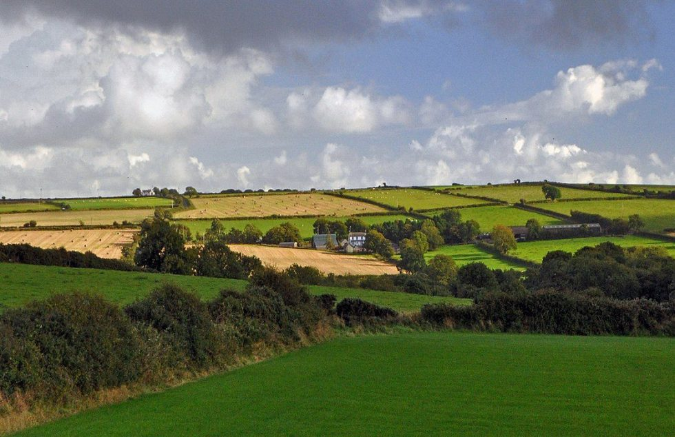 The rural landscape of Wales