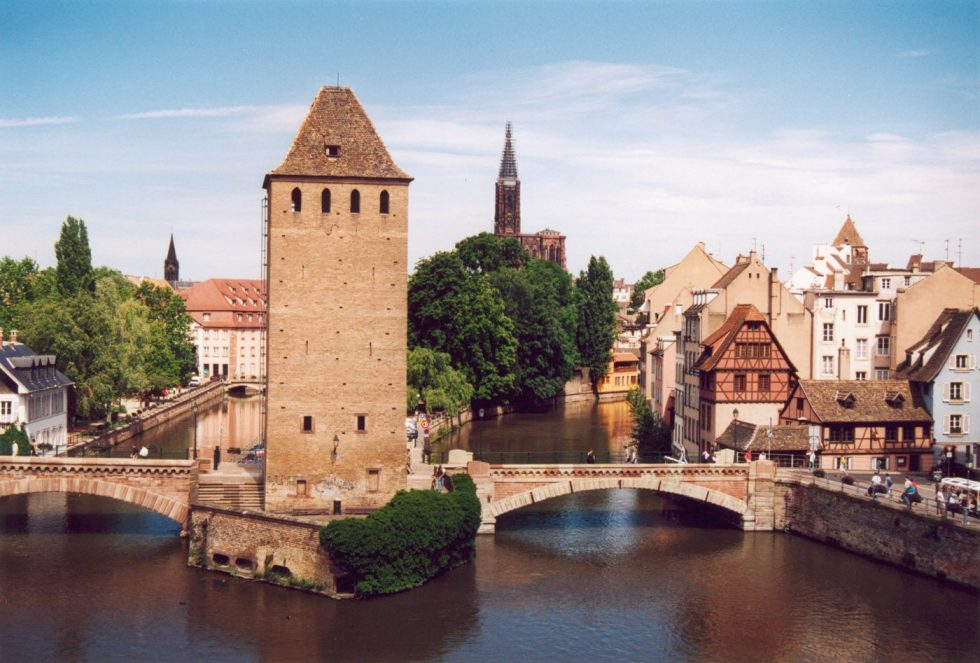 Strasbourg is the official seat of the European Parliament.