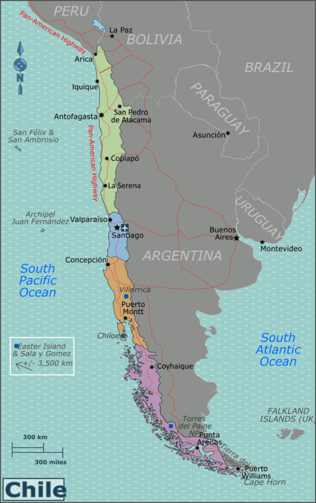 Regions of Chile