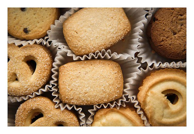 """Småkager"" - Danish butter cookies"