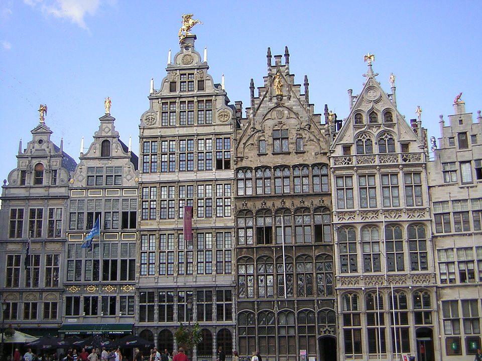 Guild houses in Antwerp