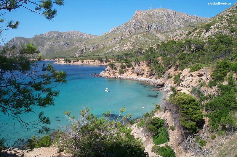 Mallorca (Majorca), one of Spain's islands in the Mediterranean