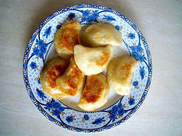 Pierogi are filled dumplings.