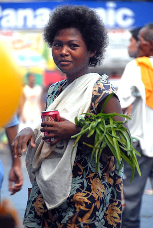 The Ati are a Negrito ethnic group that live in the Philippines.