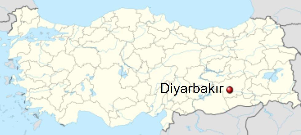 Diyarbakır location