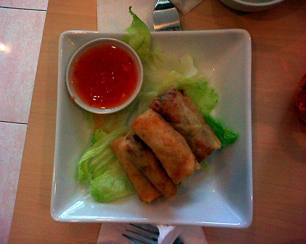 Lumpia are a type of spring roll that is usually deep fried.