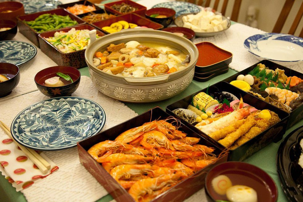 Osechi-ryōri are traditional Japanese New Year foods.