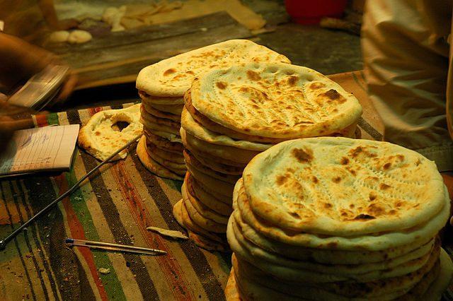 Naan - In Urdu, the national language of Pakistan, the word Naan means bread.