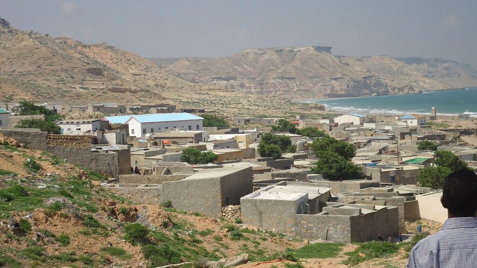 Benerbayla town (Pearl of Indian Ocean) Puntland, Somalia