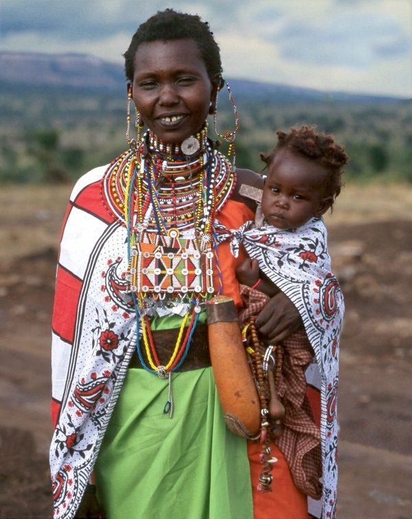 Maasai Woman Meeyu Sale Wearing her Finest