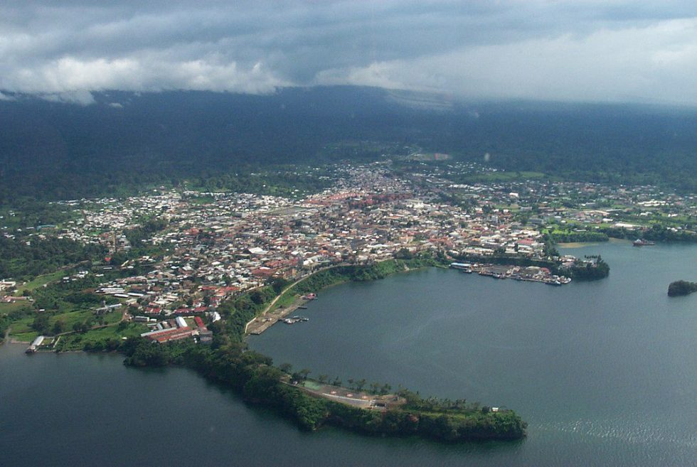 Equatorial Guinea's capital: the port city of Malabo
