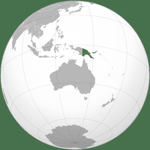 Papua New Guinea location