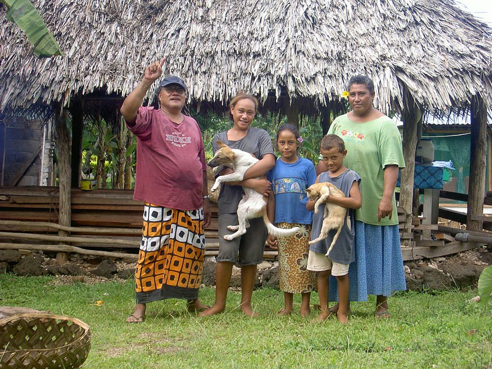 Samoan family
