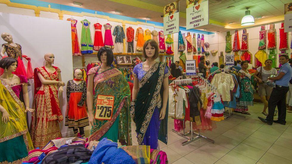 Saris on sale in Lautoka, Fiji