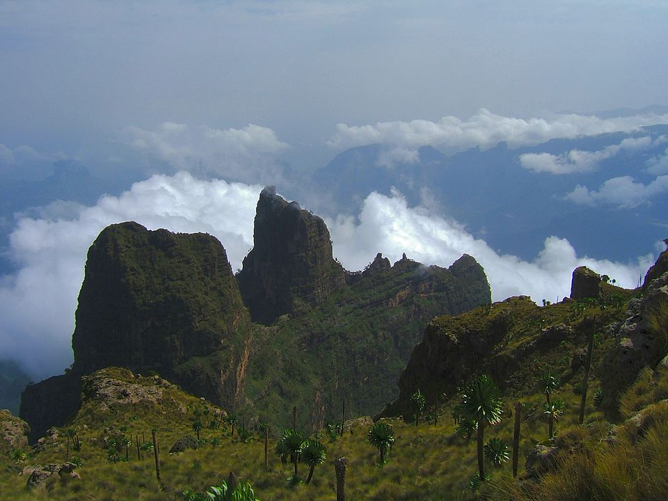 Semien Mountains near Ras Dashan
