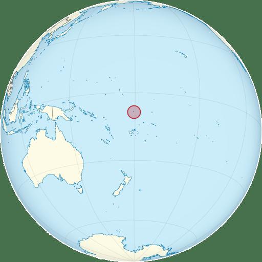 Tuvalu location