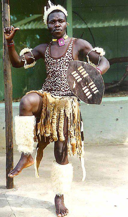 Zulu dancer