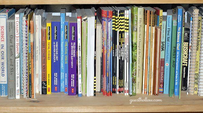 Homeschool science books