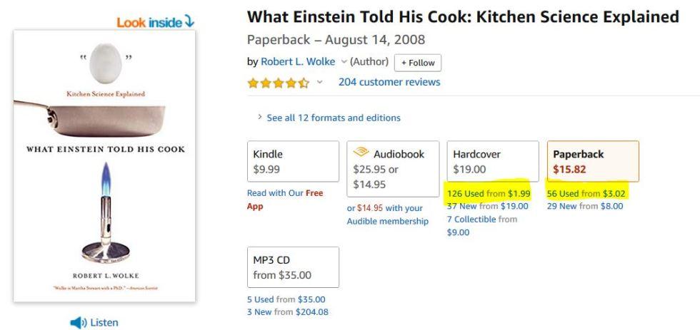 Buy used books on Amazon