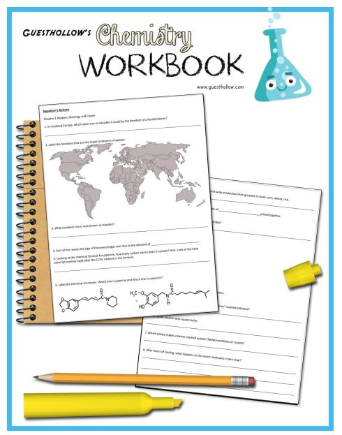 Guest Hollow's Chemistry Workbook