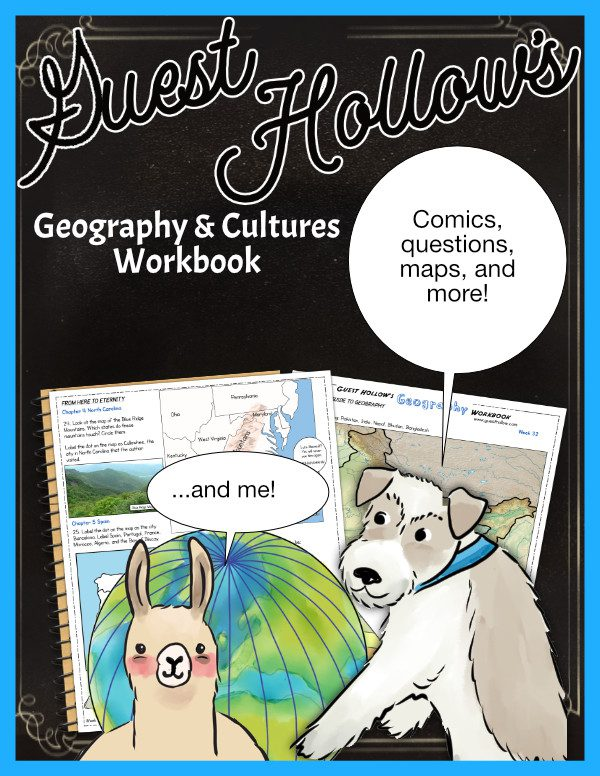Homeschool geography workbook