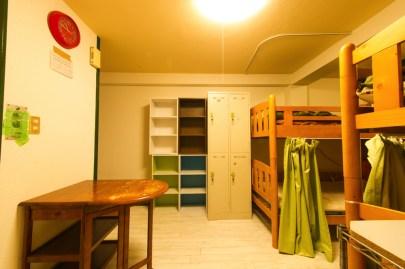 4人1室のドミトリーです 4인 1실의 룸입니다 4人1房的多人房。 4 guests per 1 dormitory room