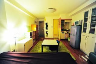 広々としたお部屋。 Chambre spacieuse