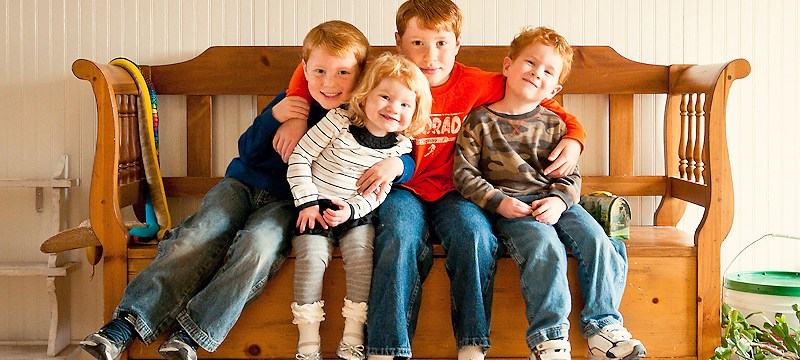 raising thankful children