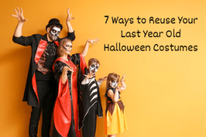 recycle halloween costumes